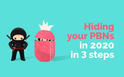 Hiding your PBNs in 2020 in 3 steps